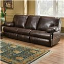 Simmons Upholstery 50981 Double Motion Sofa - Item Number: 50981-Sofa-Saddle