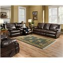 United Furniture Industries 50981 Double Motion Sofa