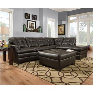 United Furniture Industries 5122 Stationary Living Room Group