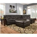 United Furniture Industries 5122 Stationary Living Room Group - Item Number: 5122 Living Room Group 1