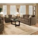 United Furniture Industries 5154 Stationary Living Room Group - Item Number: 5154 Living Room Group