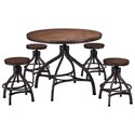 United Furniture Industries Chandler 5 Piece Table and Chair Set - Item Number: 5305-54