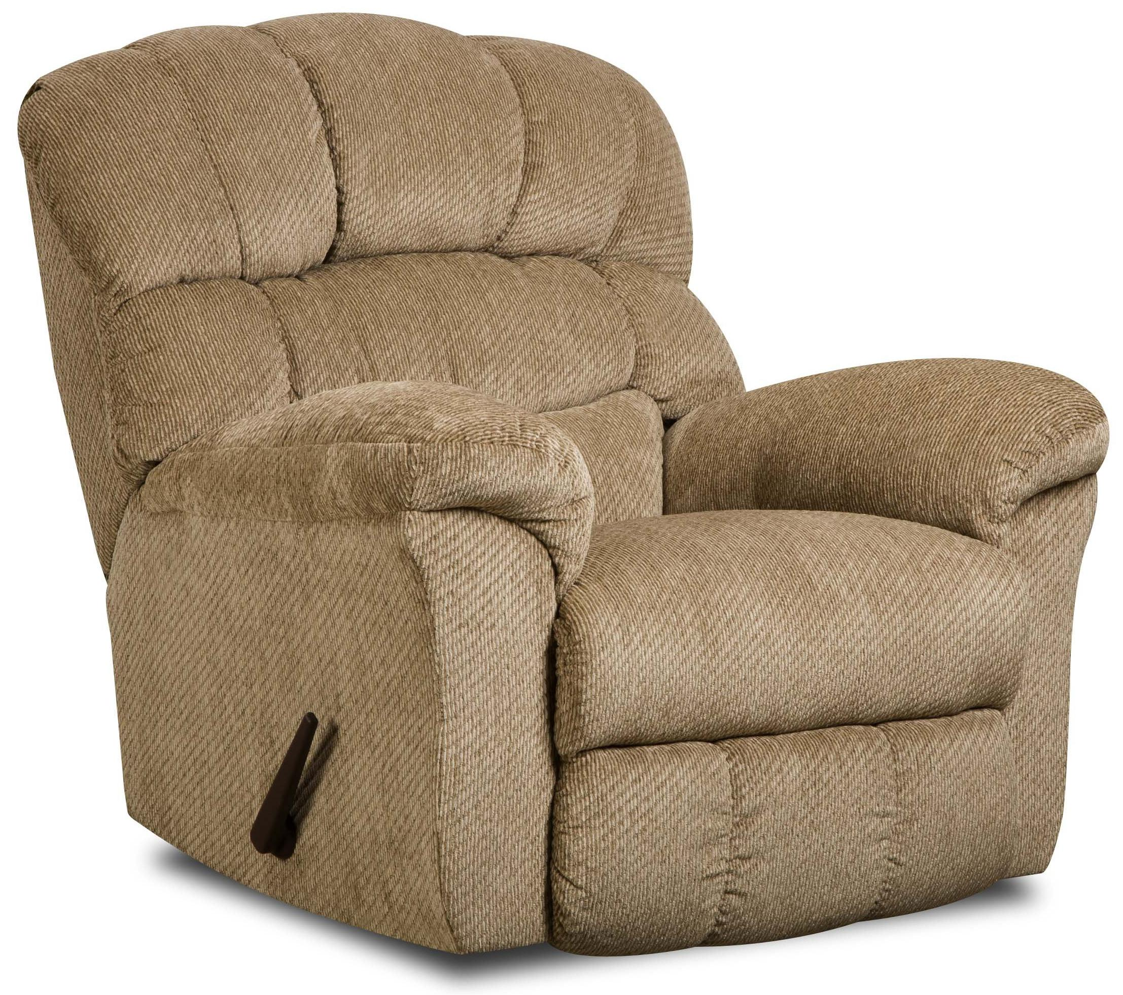 United Furniture Industries 558 Rocker Recliner - Item Number: 558 Recliner Sand