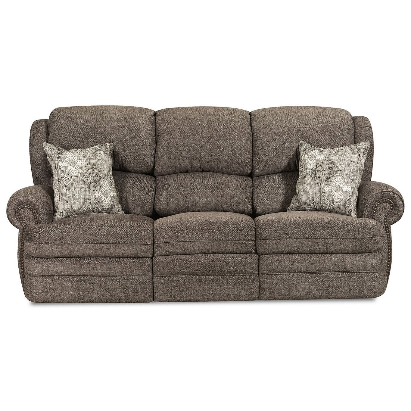 57000 Reclining Sofa by United Furniture Industries at Dream Home Interiors