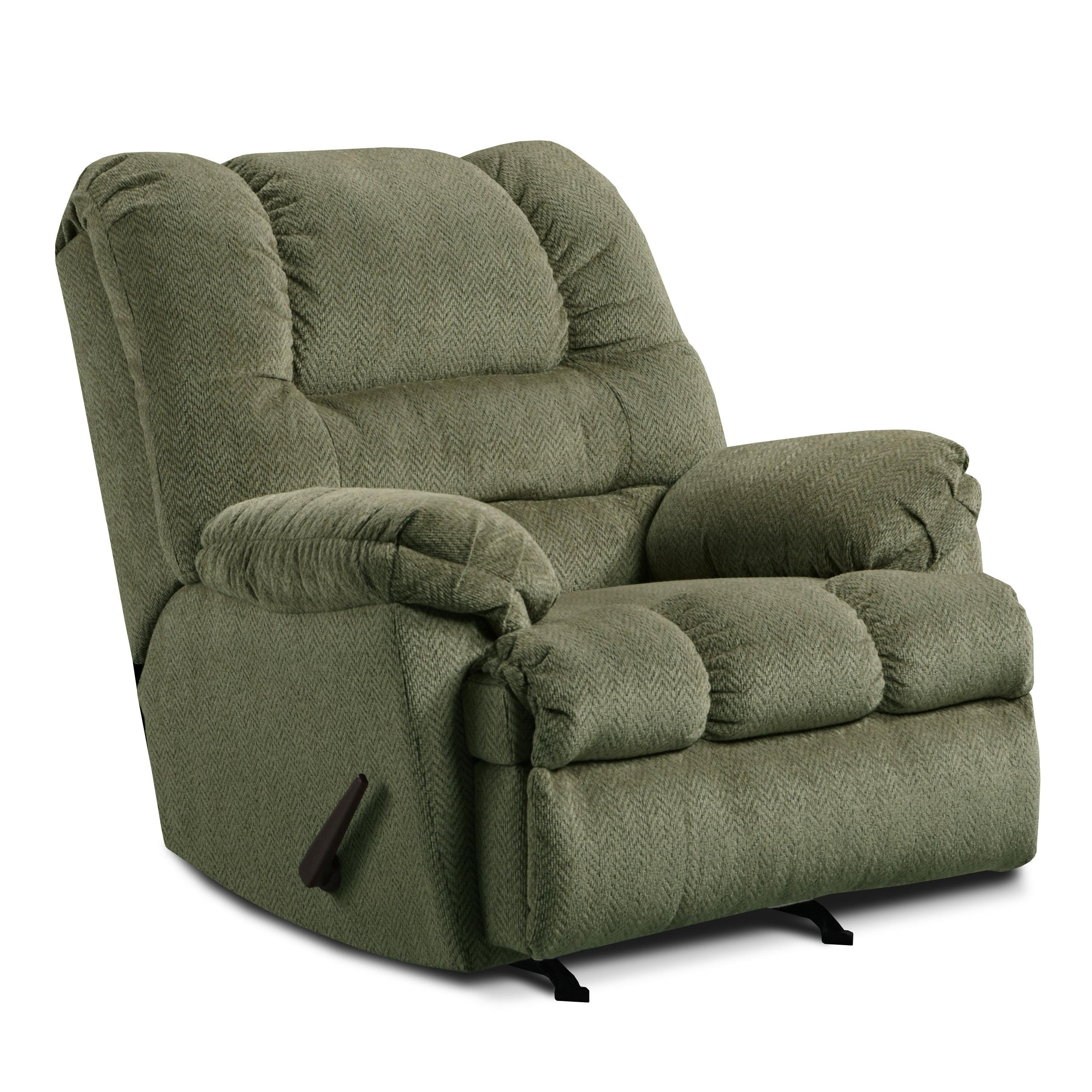 United Furniture Industries 600 Casual Oversized Rocker Recliner - Item Number: 600 P