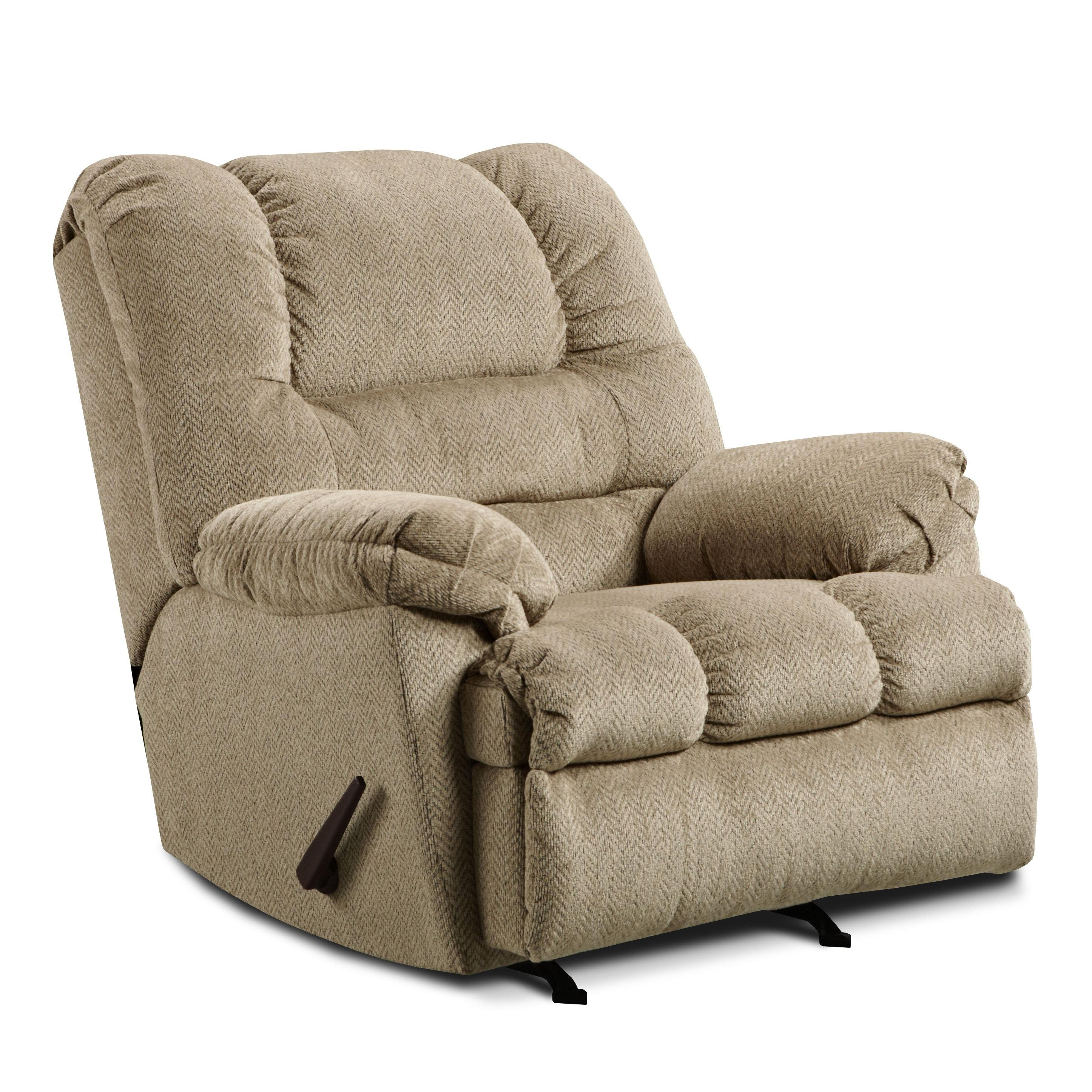 Casual Oversized Power Rocker Recliner