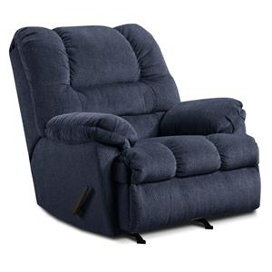 United Furniture Industries 600 Casual Oversized Power Rocker Recliner