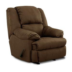 Simmons Upholstery 604 Casual Rocker Recliner