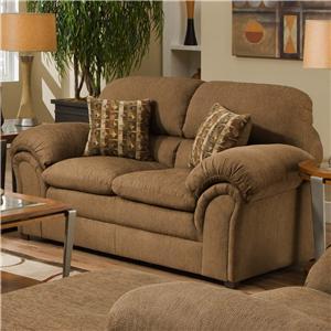 Simmons Upholstery 6150 Loveseat
