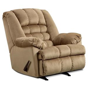 United Furniture Industries 622 Casual Rocker Recliner