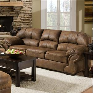 United Furniture Industries 6270 3-Seater Stationary Sofa