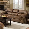 United Furniture Industries 6270 3-Seater Stationary Sofa - Item Number: 6270 SOFA PT