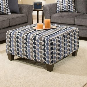 United Furniture Industries 6485 Cocktail Ottoman