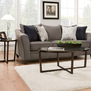 Transitional Queen Slepper Sofa