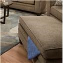 Simmons Upholstery 6485 Transitional Storage Ottoman - Item Number: 6485StorageOttoman-AlbanyTruffle