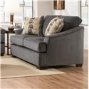 Simmons Upholstery 6522 Casual Loveseat - Item Number: 6522L