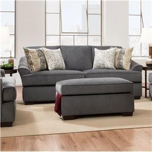 Simmons Upholstery 6522 Casual Sofa