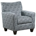 United Furniture Industries 6547BR Accent Chair - Item Number: 2158AccentChair-Candidate Seaglass