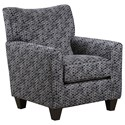 United Furniture Industries 6547BR Accent Chair - Item Number: 2158AccentChair-Candidate Stone