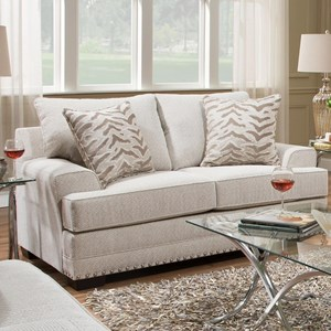 United Furniture Industries 6547BR Love Seat