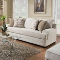 United Furniture Industries 6547BR Sofa - Item Number: 6547BRSofa-Grenada Natural