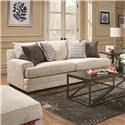United Furniture Industries 6548 Sofa - Item Number: 6548BRS
