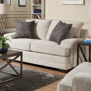 United Furniture Industries 6548BR Love Seat