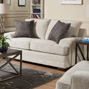 United Furniture Industries 6548BR Love Seat - Item Number: 6548BRLOVESEAT-Dillon Driftwood