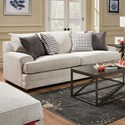 United Furniture Industries 6548BR Sofa - Item Number: 6548BRSOFA-Dillon Driftwood