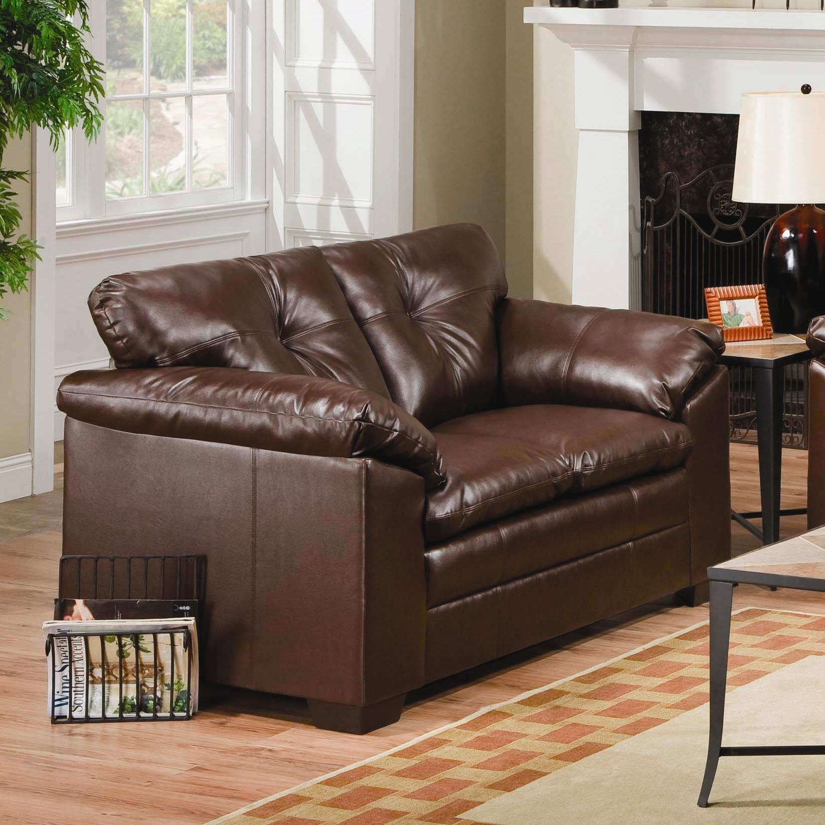 Simmons Upholstery 6569 Loveseat - Item Number: 6569-LS