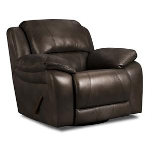 United Furniture Industries 660 Casual Swivel Glider Recliner