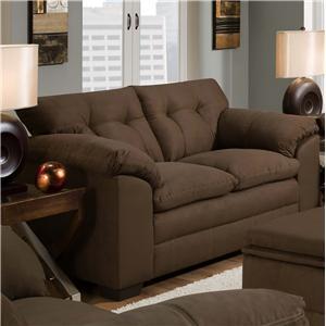 United Furniture Industries 6765 Loveseat