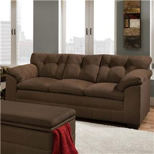 United Furniture Industries 6765 3-Seater Stationary Sofa
