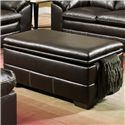 Simmons Upholstery 6769 Storage Ottoman - Item Number: 6769 OTTOMAN