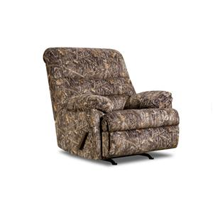 Simmons Upholstery 683 Camouflage Recliner