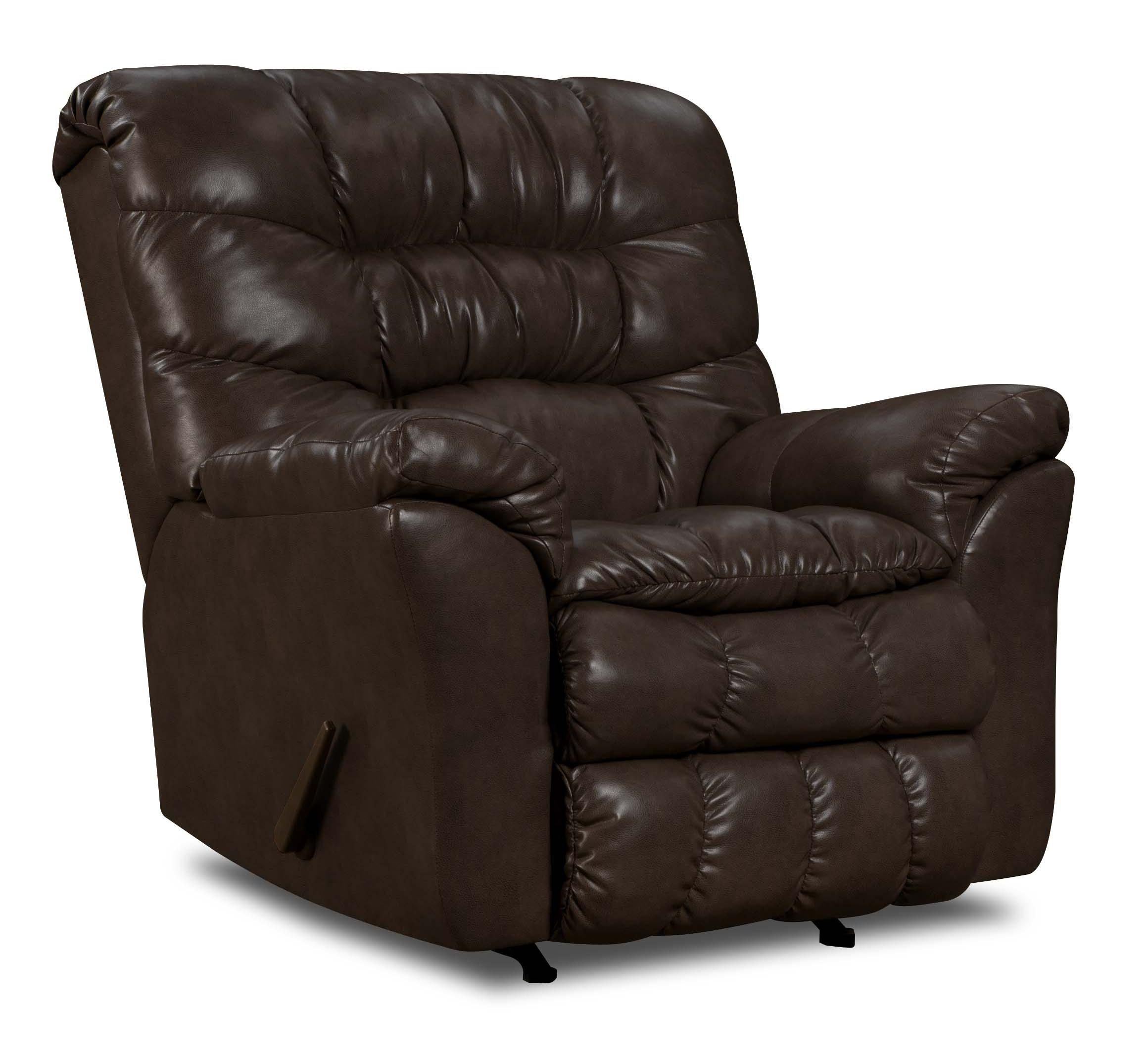 United Furniture Industries 689 Casual Power Rocker Recliner - Item Number: 689-P Rocker Vintage