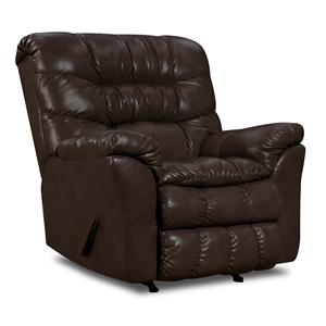 Simmons Upholstery 689 Casual Rocker Recliner