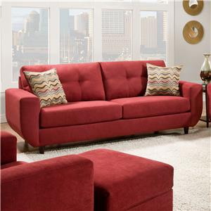 United Furniture Industries 6950 Contemporary Stationary Sofa
