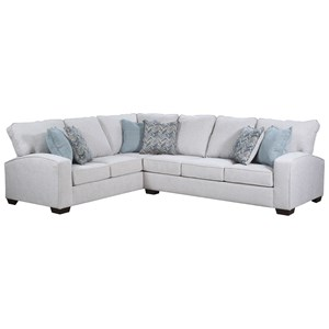 United Furniture Industries 7077 Sectional