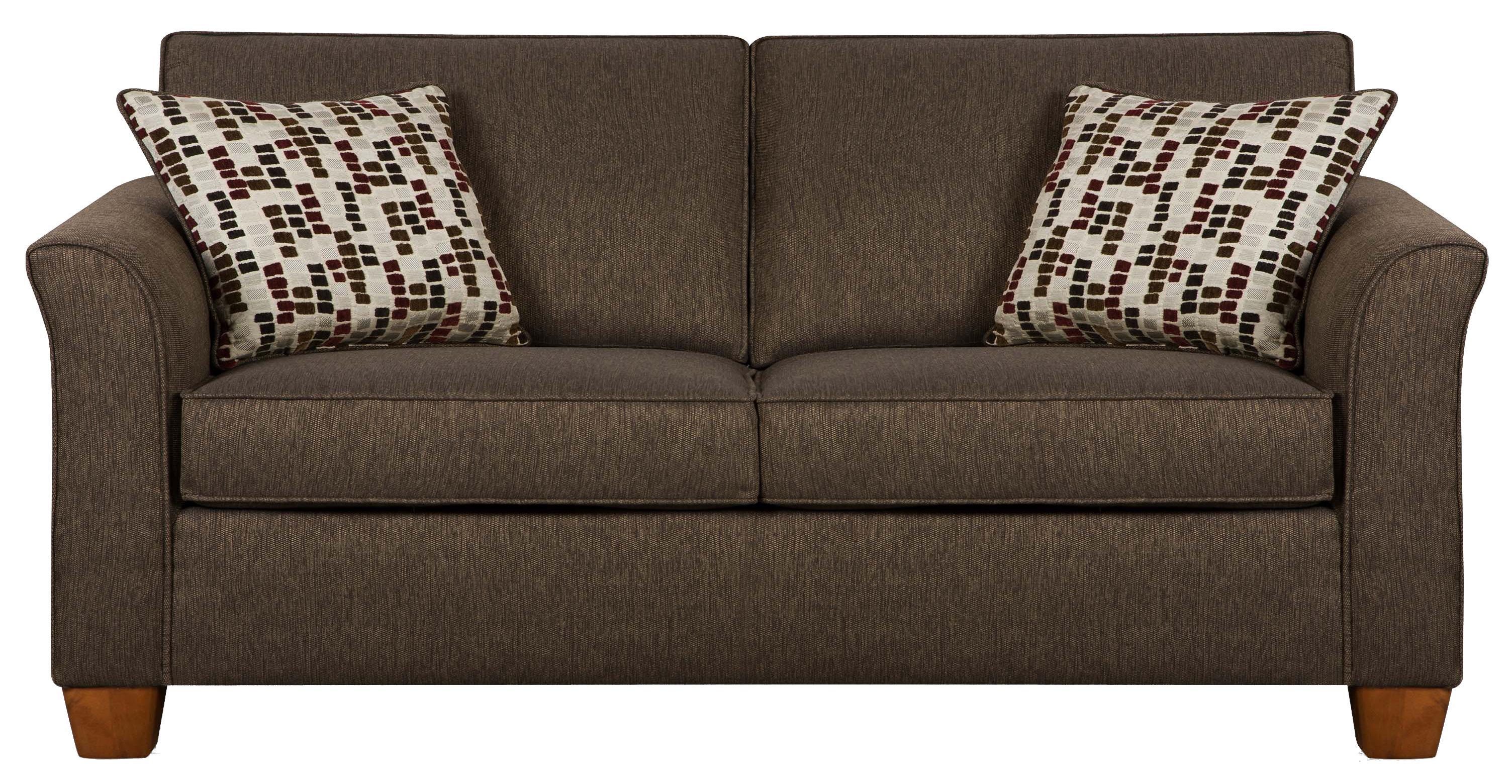 Simmons Upholstery 7251 7251 Full Size Sofa Sleeper In