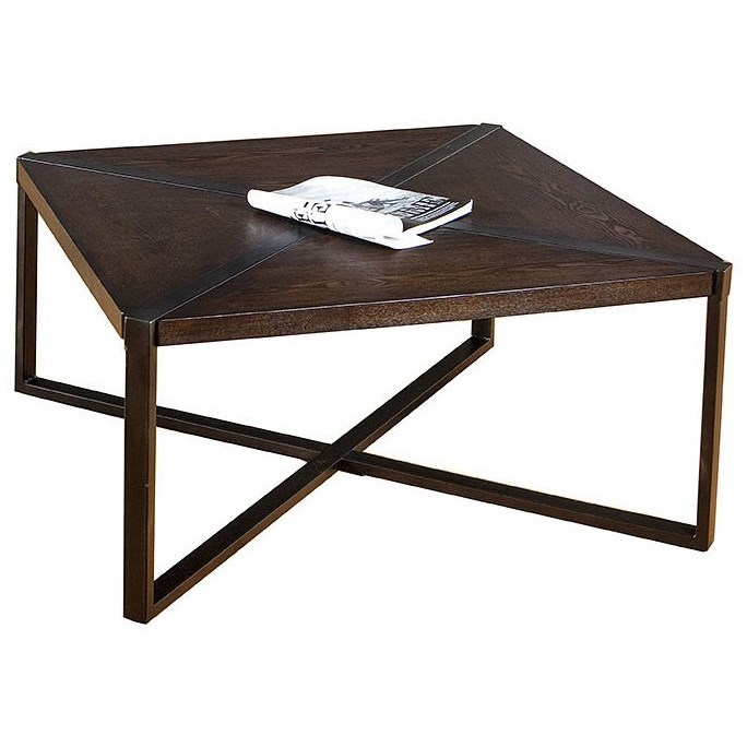 7312 Square Cocktail Table by United Furniture Industries at Bullard Furniture