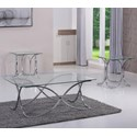 Simmons Upholstery 7316 3 Piece Occasional Table Set - Item Number: 7316-43
