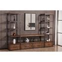 United Furniture Industries 7326 Wall Unit - Item Number: 7326-28+2x29
