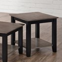 Simmons Upholstery 7502 Transitional End Table - Item Number: 7502-45