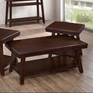 United Furniture Industries 7506 Rectangular Cocktail Table