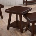 United Furniture Industries 7506 Square End Table - Item Number: 7506-47