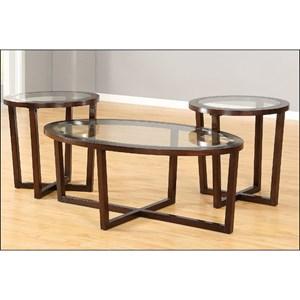 VFM Basics 7526 Occasional Table Set