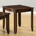 United Furniture Industries 7528 Square End Table - Item Number: 7528EndTable