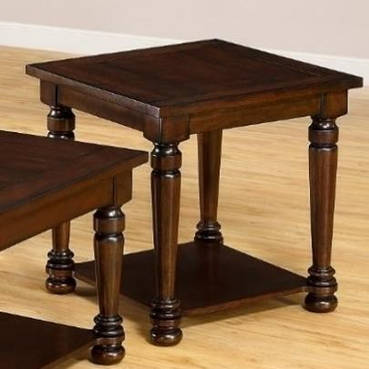 7532 Transitional End Table by United Furniture Industries at Dream Home Interiors