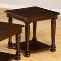 United Furniture Industries 7532 Transitional End Table - Item Number: 7532EndTable